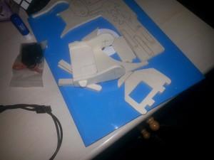 Braccio robotico assemblaggio profili di legno2