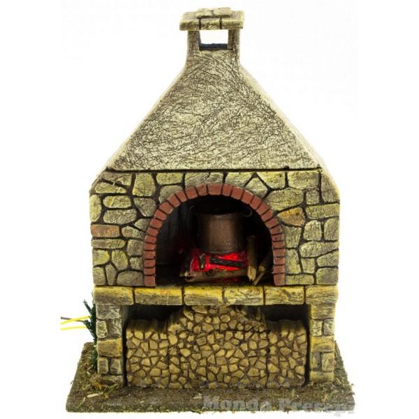 Simulatore fiamma e fuoco per presepe e altre applicazioni