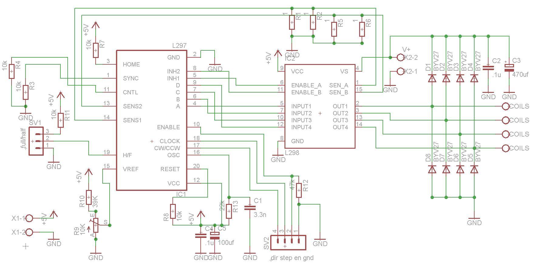 Schema Elettrico Trifase : Autocostruzione fresa cnc parte 3 elettronica club