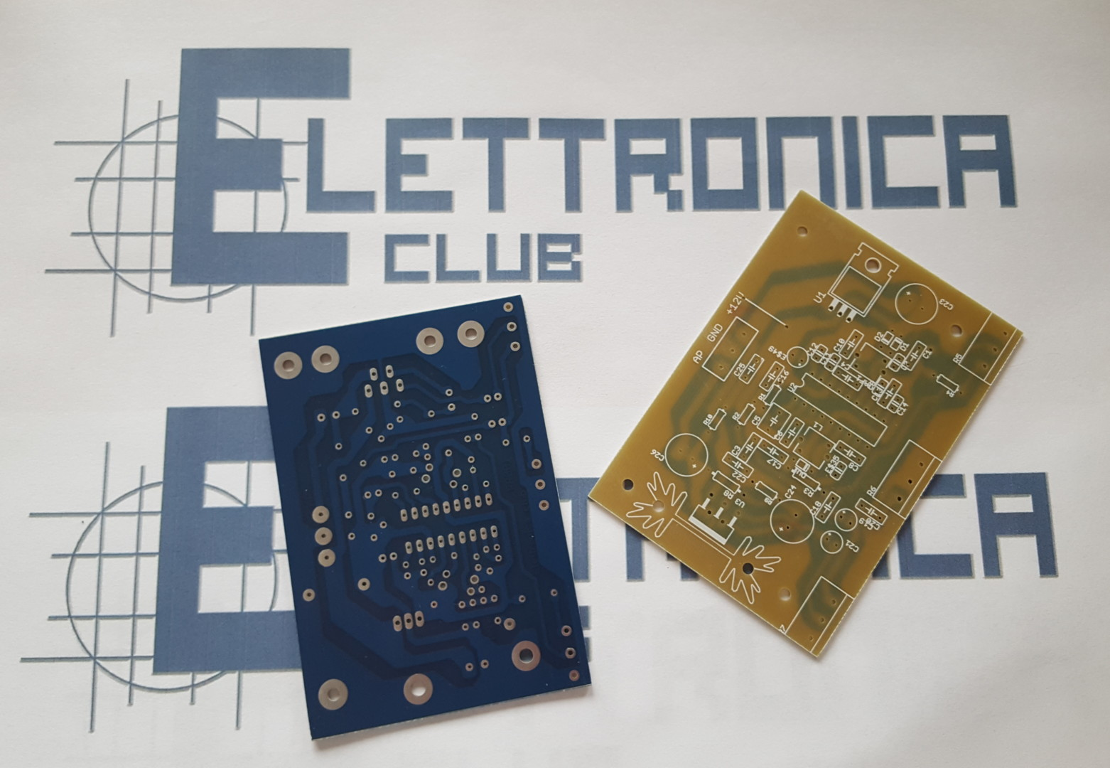 Rr001 Pcb Radioricevitore Fm Con Tda7000 Elettronica Club Radio Receiver Using Circuit Diagram