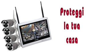 Kit videosorveglianza - SMART WiFi 4 720 M12W