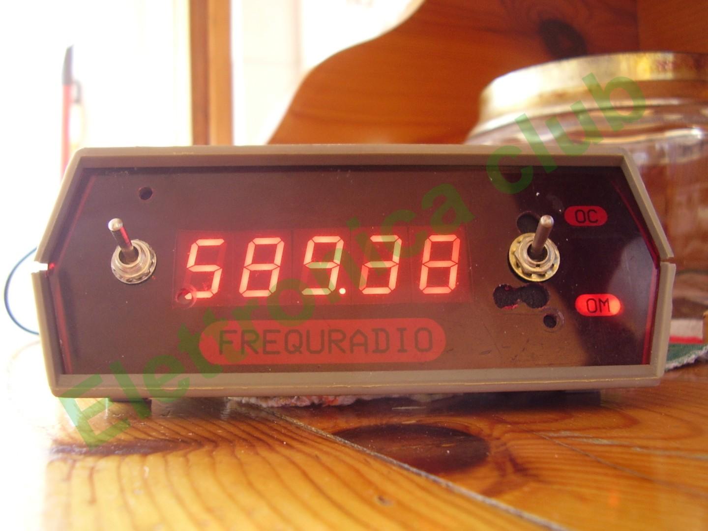 Schemi Elettrici Per Radioamatori : Ss frequenzimetro radio om oc fatto di recuperi elettronica